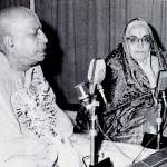 Srila Prabhupada with Sumati Morarji