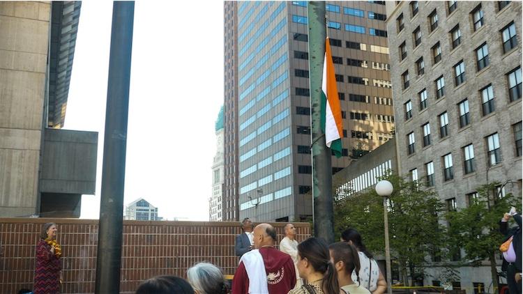 बॉस्टन में श्रील प्रभुपाद का सम्मान