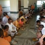 Devotees Prasadam