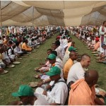 Prasadam sitting