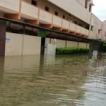 Chennai Iskcon Temple in flood3