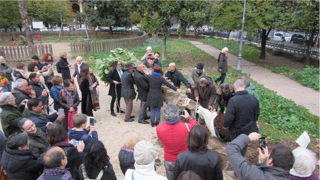 रोम में इस्कॉन इटली द्वारा ५०वीं वर्षगाँठ का आयोजन प्रारम्भ