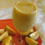 चीकू दूध मिश्रित पेय
