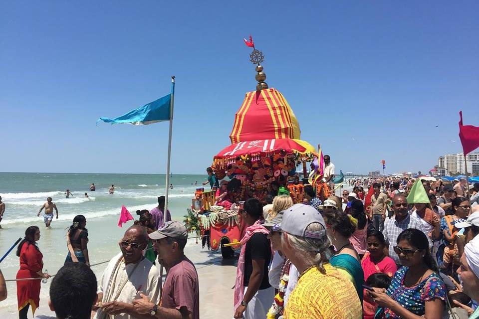 सेंट ऑगस्टीन, फ्लोरिडा में रथयात्रा उत्सव
