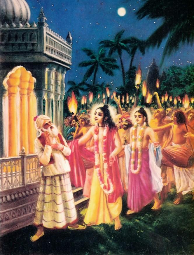 Chandkazi & Chaitanya Mahaprabhu
