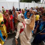 Devotees Dancing for Jagannath in Karachi Pakistan