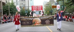ISKCON Vancouver in Canada Day Parade