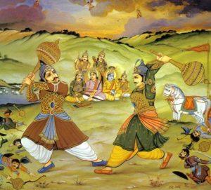 Bhima Duryodhan fight