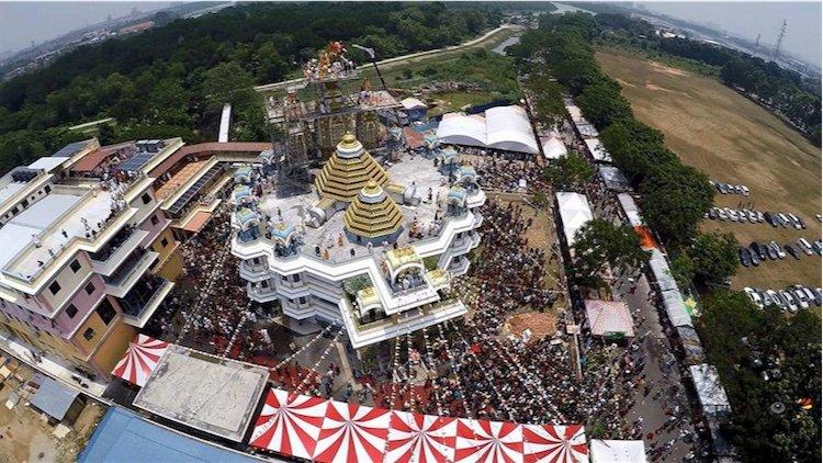 पेनांग, मलेशिया में श्री श्री राधा कृष्ण मंदिर का उद्घाटन