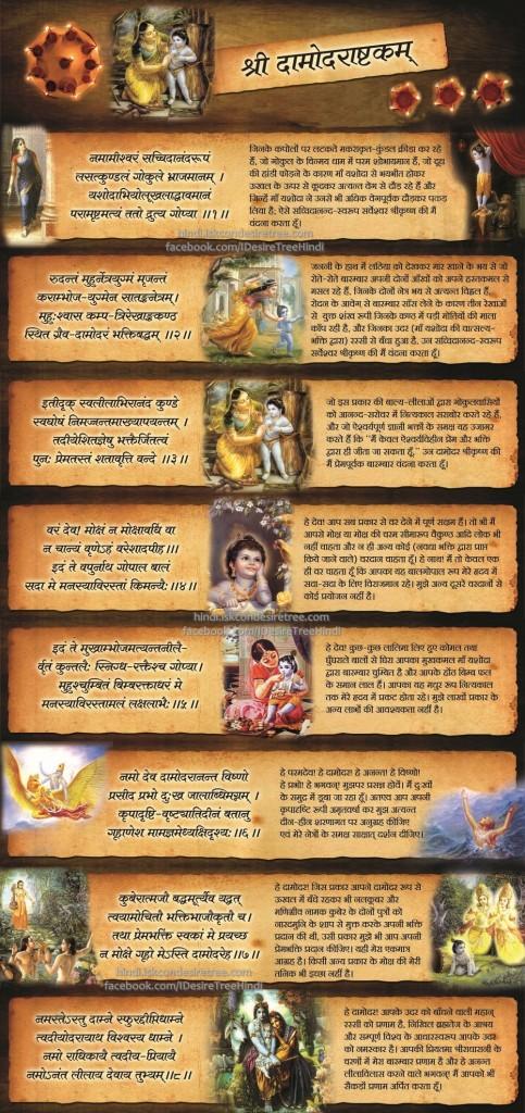 Damodarastakam_Hindi