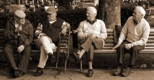 Old men talking politics