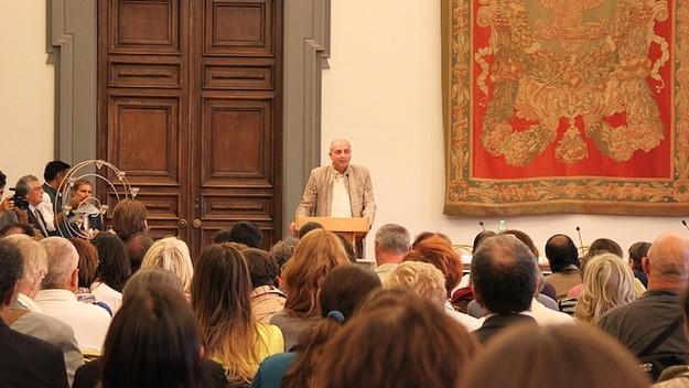 इस्कॉन द्वारा रोम के सिटी हॉल में दिवाली का आयोजन
