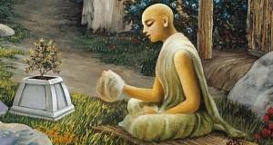 Haridas Thakur chanting-japa