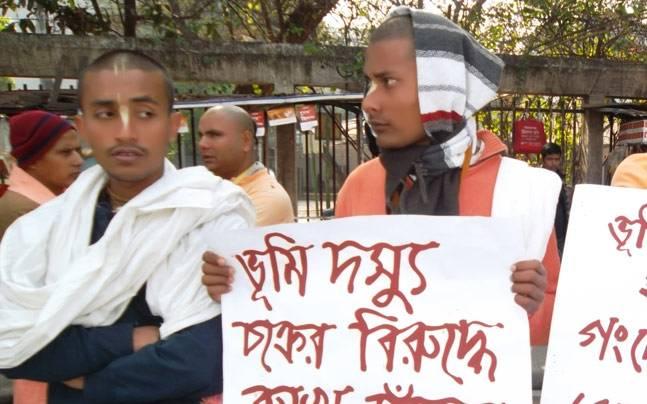 इस्कॉन बांग्लादेश के नामहट्ट केंद्र पर हमले में २ लोग घायल