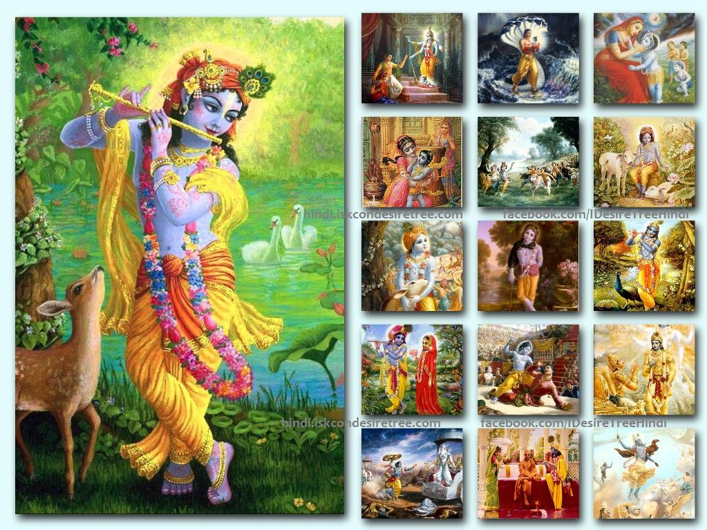 Krishna's body